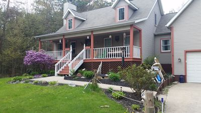 Photo for Low Fall Rates!  The Driftwood Porch near Grand Haven Beaches