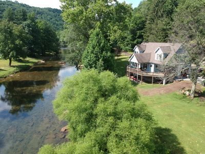 Photo for Buckhannon River cottage where your family can make memories that last forever.