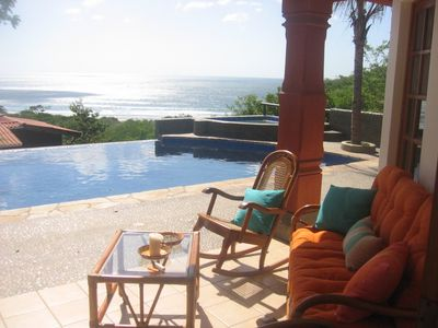 Photo for Phenomenal ocean view from infinity pool. 'Very high end home'.