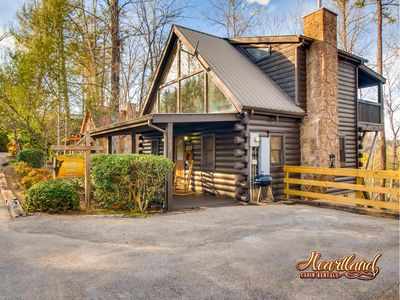 Photo for Hanky Panky cabin is the perfect romantic getaway to rekindle your love or just a perfect getaway!