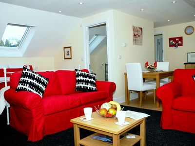 Photo for A light and airy studio apartment situated in the heart of Hampshire countryside