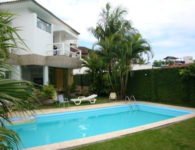 Photo for HOUSE 3 suites, swimming pool, barbecue, BEACH SIDE, REGION AQUARIUM