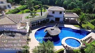 Photo for Villa Des Reves ***** 30 mins from saint tropez and cannes