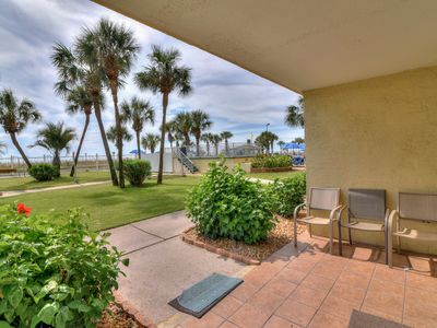 Photo for 1-Bedroom Gulf-front Condo – Just steps to the beach.