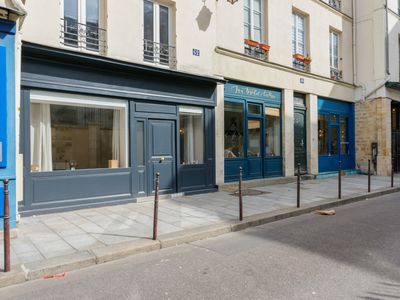 Photo for Luminous one-bedroom in the center of Paris, in Marais district - Welkeys