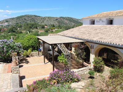 Photo for Perfect country house between Calpe and Moraira, for 9 people.
