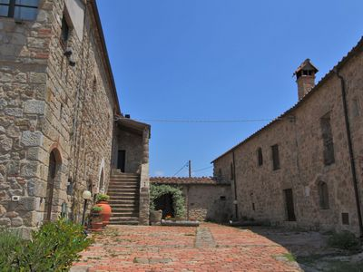 Photo for Beautiful antique borgo with breathtaking panorama's and pool