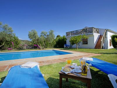 Photo for Beautiful Rocabella country villa with views of the mountains