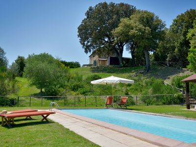 Photo for Tuscany holidayhome with private pool close to Cecina, 25km to the seaside