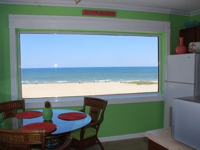 Photo for Beachfront Beautiful 1 bedroom 1 1/2 bath Beautiful unit Amazing Views!  Sleeps