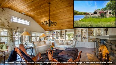 Photo for Designer's Secluded Waterfront Cottage