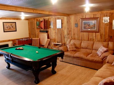 Photo for Peaceful Country Cottage with Game Room