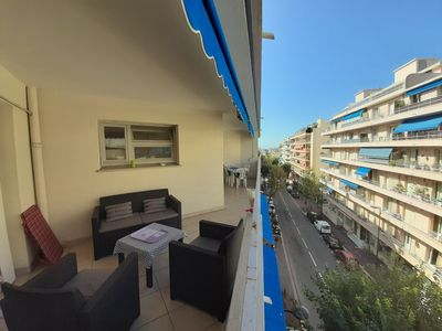 Photo for The apartment of Antibes and Juan les Pins with the terrace
