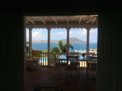 Best Location on Nevis - Spectacular views from this 2 bedroom Villa with pool