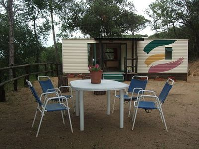 Photo for MOBILEHOME in Donkey reserve-BARCELONA