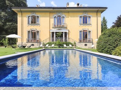 Photo for Beautiful distinguished villa with swimming pool in Stresa!