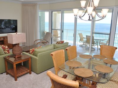 Photo for GORGEOUS 3 Bed/3 Bath Tower 3 Penthouse_LARGE Balcony & TWO Sets of Beach Chairs!
