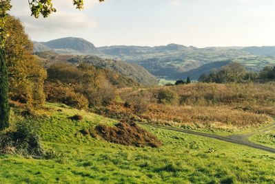 View of Manod Mawr and Vale of Ffestiniog from Hafod