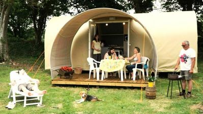 Photo for Camping de l'Orival *** - Coco Sweet 3 Rooms 2 People