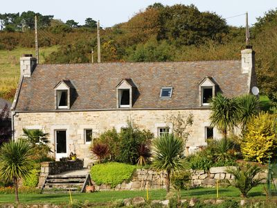 Photo for Stone farmhouse in the countryside 10 minutes from the sea
