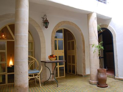Photo for Beautiful Riad in the heart of the old town, a few minutes from the sea