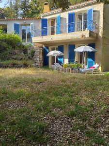 Photo for In Porticcio 20166 F2 independent in villa of charm rez of garden