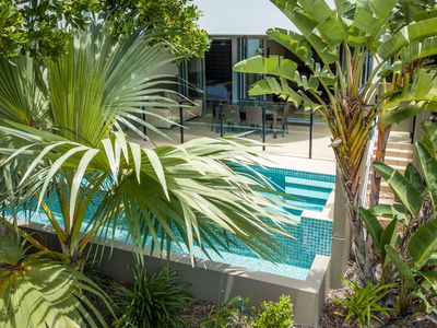 Photo for Cotton Beach Resort - Beachfront Apartment w/ Private Pool - Paradise Casuarina