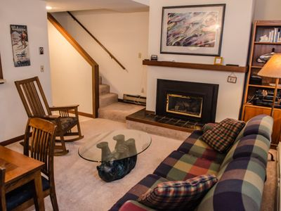 Photo for Snowater Condo #20 - Fireplace - Washer/Dryer- Sleeps 6