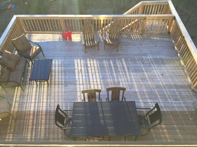 Large deck space