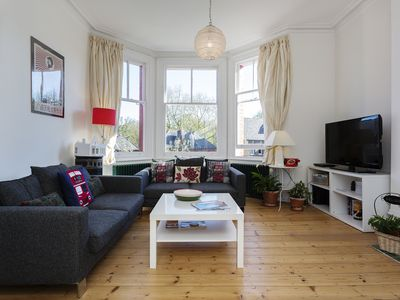 Photo for A light and bright 2 bed family home  from great transport links (Veeve)