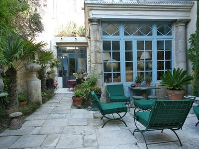 Photo for Loft in antique house, 110m2, Arles