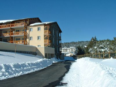 Photo for One bedroom Apartment, sleeps 4 in Bolquère with WiFi