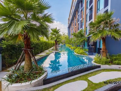 Photo for Apartment in Choeng Thale with Internet, Pool, Air conditioning, Lift (756233)