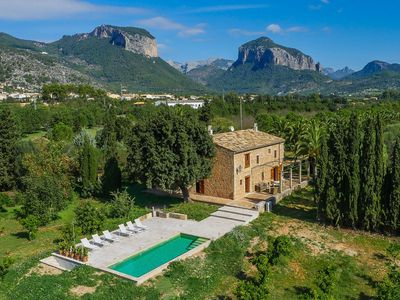 Photo for Finca with pool and garden in Alaró
