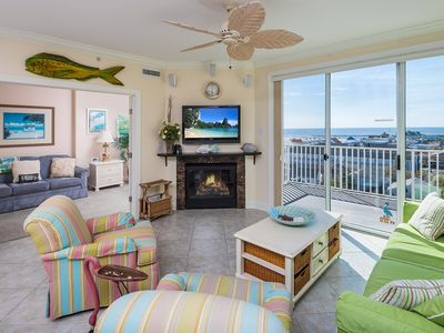 Photo for Gorgeous Boardwalk Condo - Wi-Fi, Pool & Gr8 Views of Bay, Inlet & Assateague!!