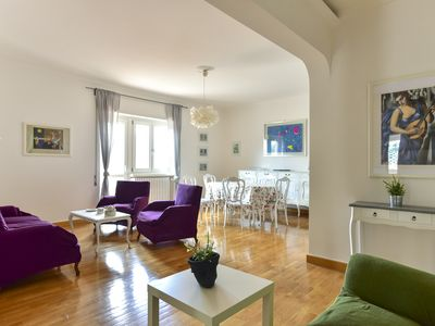 Photo for Balduina 6Pax Bright Apartment with terrace
