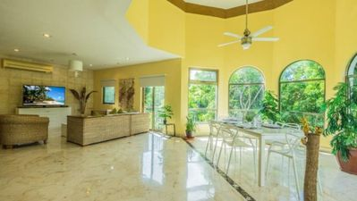 Photo for 3 Bedroom Penthouse With Garden And Golf Course Views