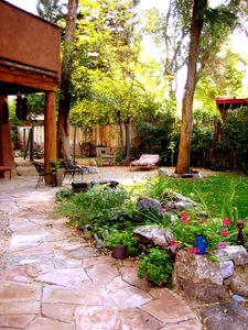 Photo for Adobe Arboleda Taos Town, Secluded, Fenced Yard Hot Tub 2 Master Bedrooms