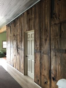 Barnwood Accent Wall