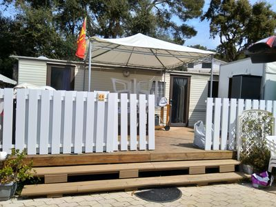 Photo for mobile home comfort air-conditioned