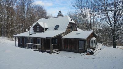 Photo for A True Cabin in the Woods minutes from Ellicottville HoliMont and Holiday Valley