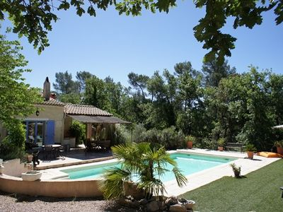 Photo for Villa in Provence with quiet private pool - 8 people