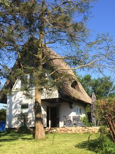 Photo for Fantastic, thatched cottage on the Baltic coast with natural plot