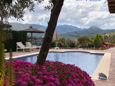 Photo for Hideaway villa in a beautiful valley in the mountains close to Ronda