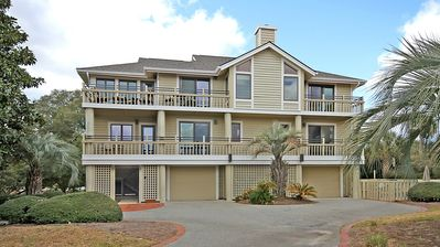 Photo for Premium Home w/ Private Pool! On Beach Boardwalk! Great for Families! Sleeps 12!