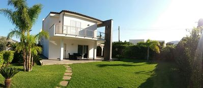 Photo for Mondello - Splendid portion of villa surrounded by greenery 800 meters from the sea