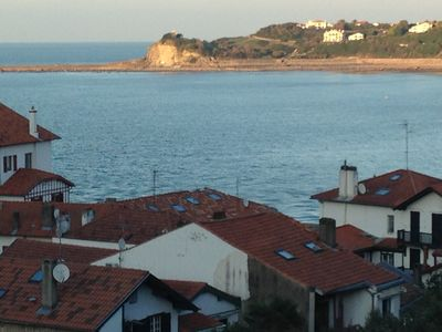 Photo for 200 m from the sea residence with pool overlooking bay of St Jean de Luz