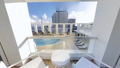 Photo for Ft Lauderdale Beach | Studio Intracoastal/Ocean View