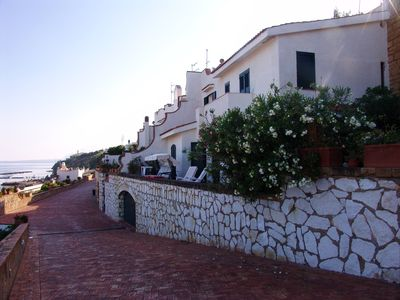 Photo for Detached villa on the sea with breathtaking views of the Gulf of Castellammare