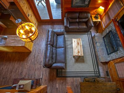 Photo for True woodsy log cabin experience, yet close to all